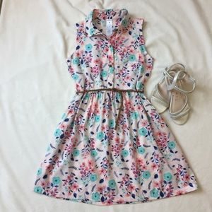 CARTER'S Size 6 Girls Pink Floral Dress